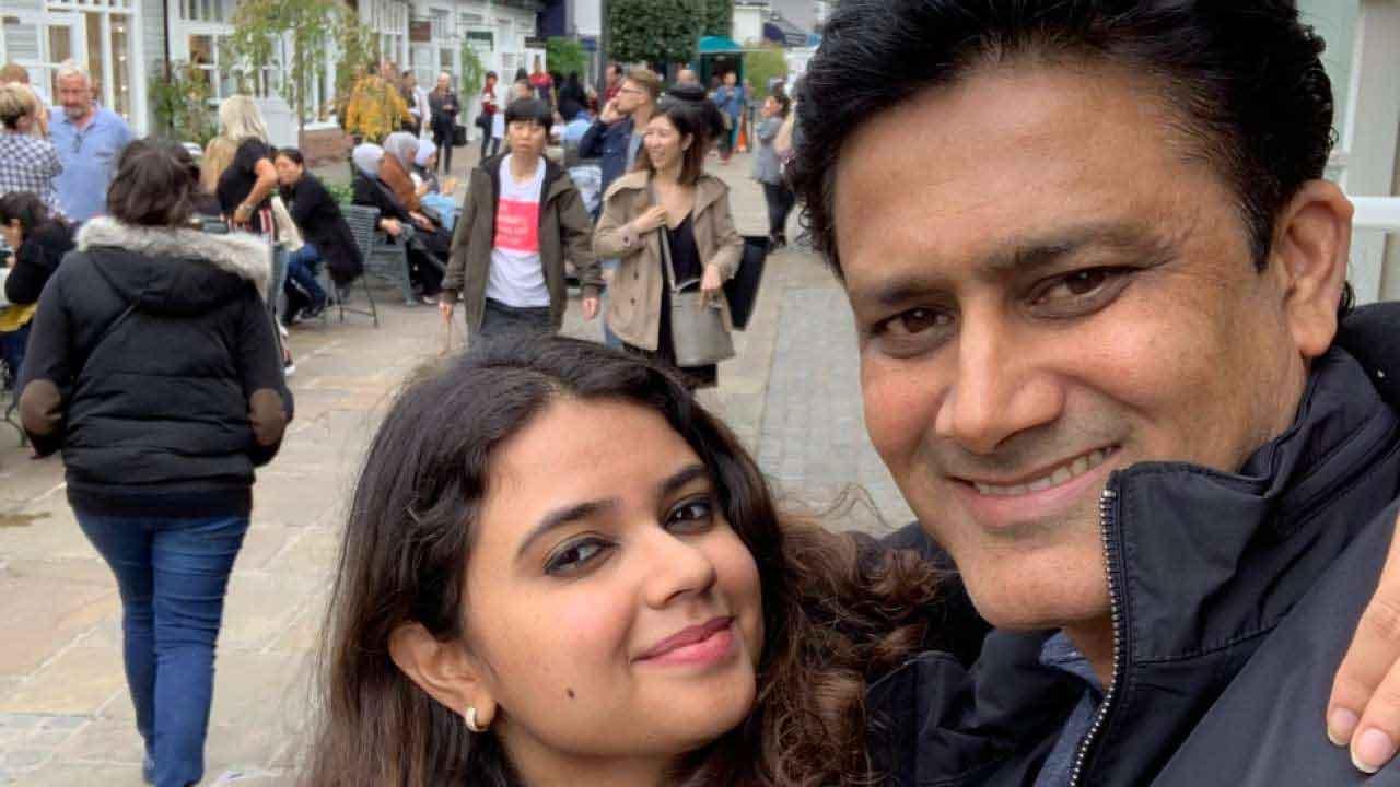 Anil Kumble daughter: Mayas Kumble