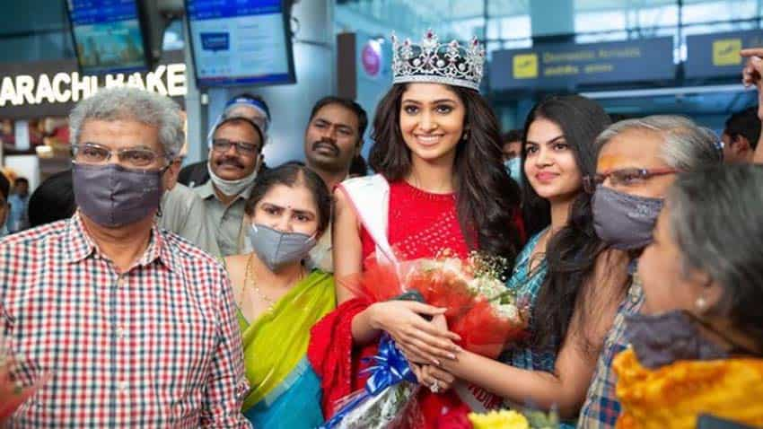Miss India title preparation