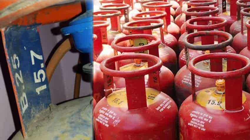 Change in LPG cylinder price