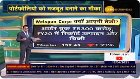Welspun Corp Order Book