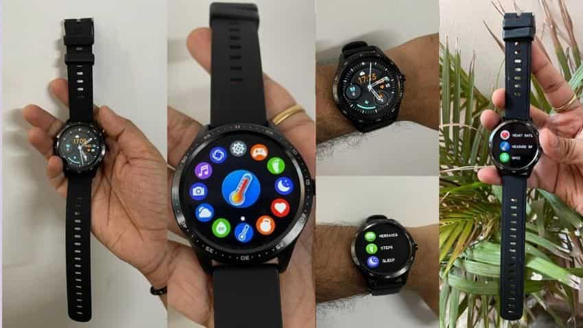 Fire Boltt 360 smartwatch: DESIGN
