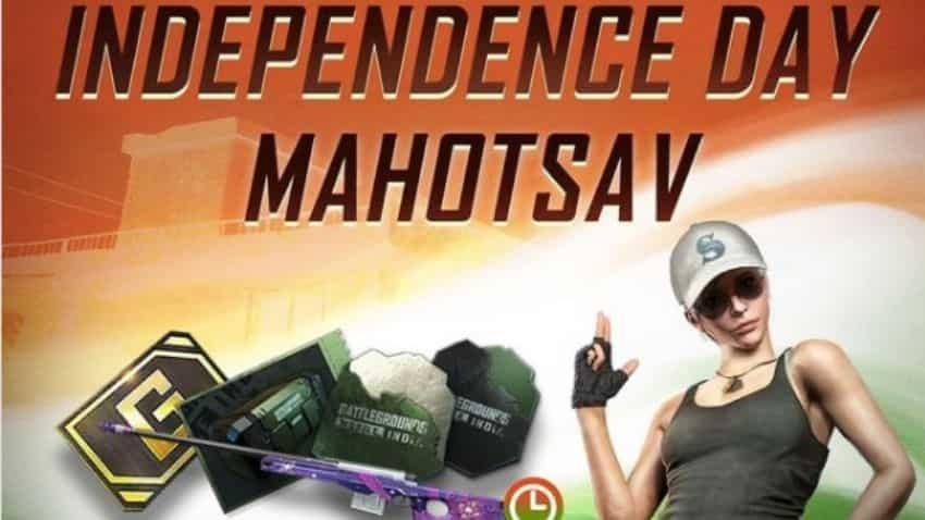Battlegrounds Mobile India latest update: BGMI Independence Day Mahotsav event