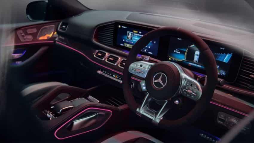 Mercedes AMG GLE 63 S 4MATIC+ Coupé: Interior design