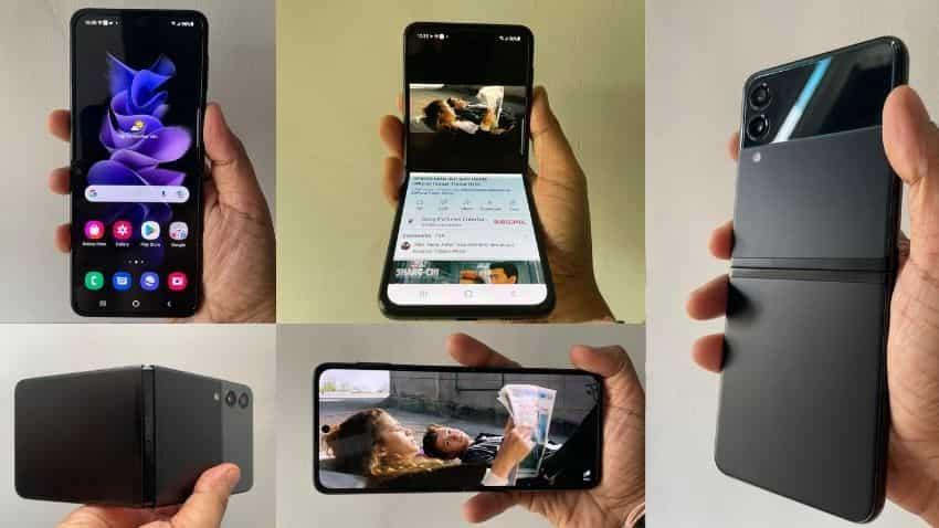 Samsung Galaxy Z Flip 3 First Look: Display