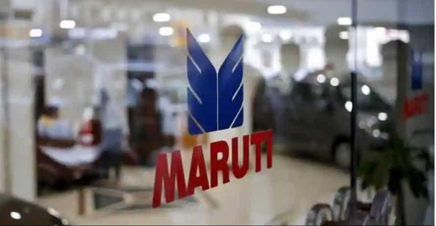 Change in the prices of Maruti Suzuki