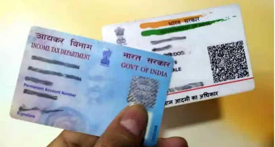 Seeding Aadhaar card with PAN card
