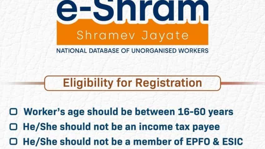 e-SHRAM portal: Income and eligibility criteria