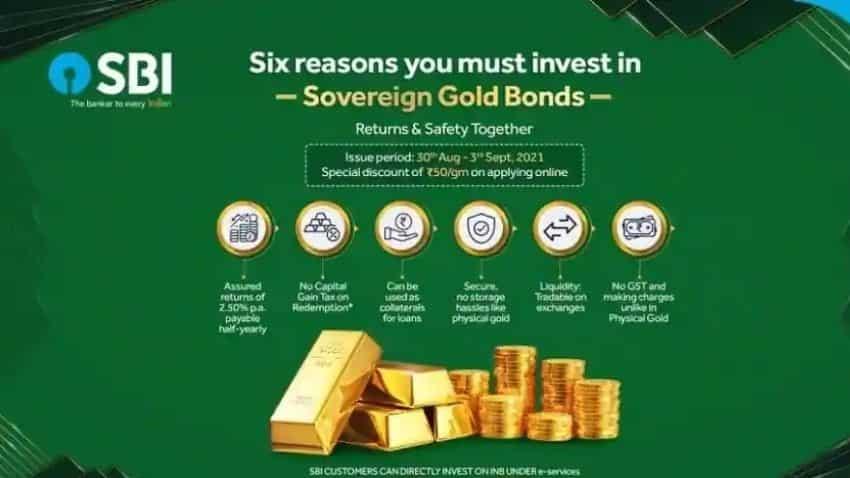 Sovereign Gold Bond Scheme 2021-22 - Series VI: Benefits