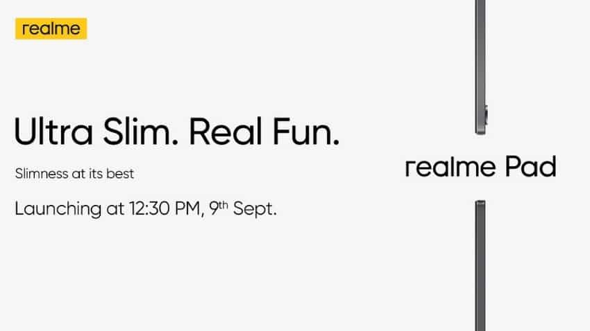 Realme Pad launch date in India