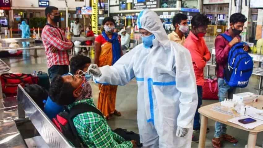 Coronavirus cases in India today