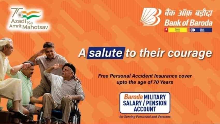 Bank of Baroda: Military salary account