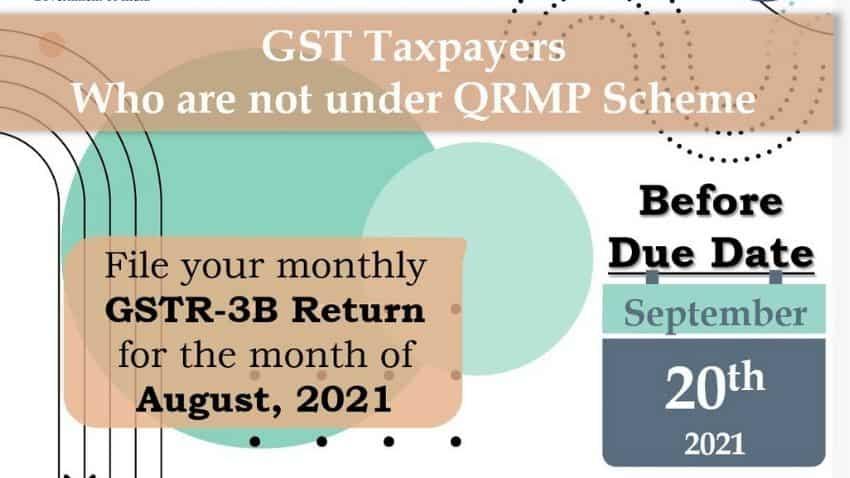 GST taxpayers not under QRMP scheme