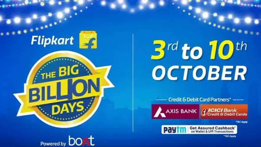 Flipkart Big Billion Day Sale 2021: When does it go live?