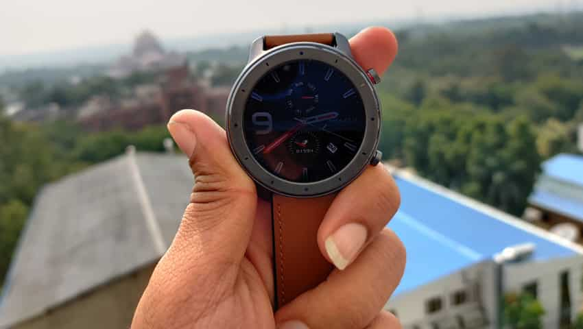 Huami Amazfit GTR 47.2mm review. (Shot on OnePlus 7T)