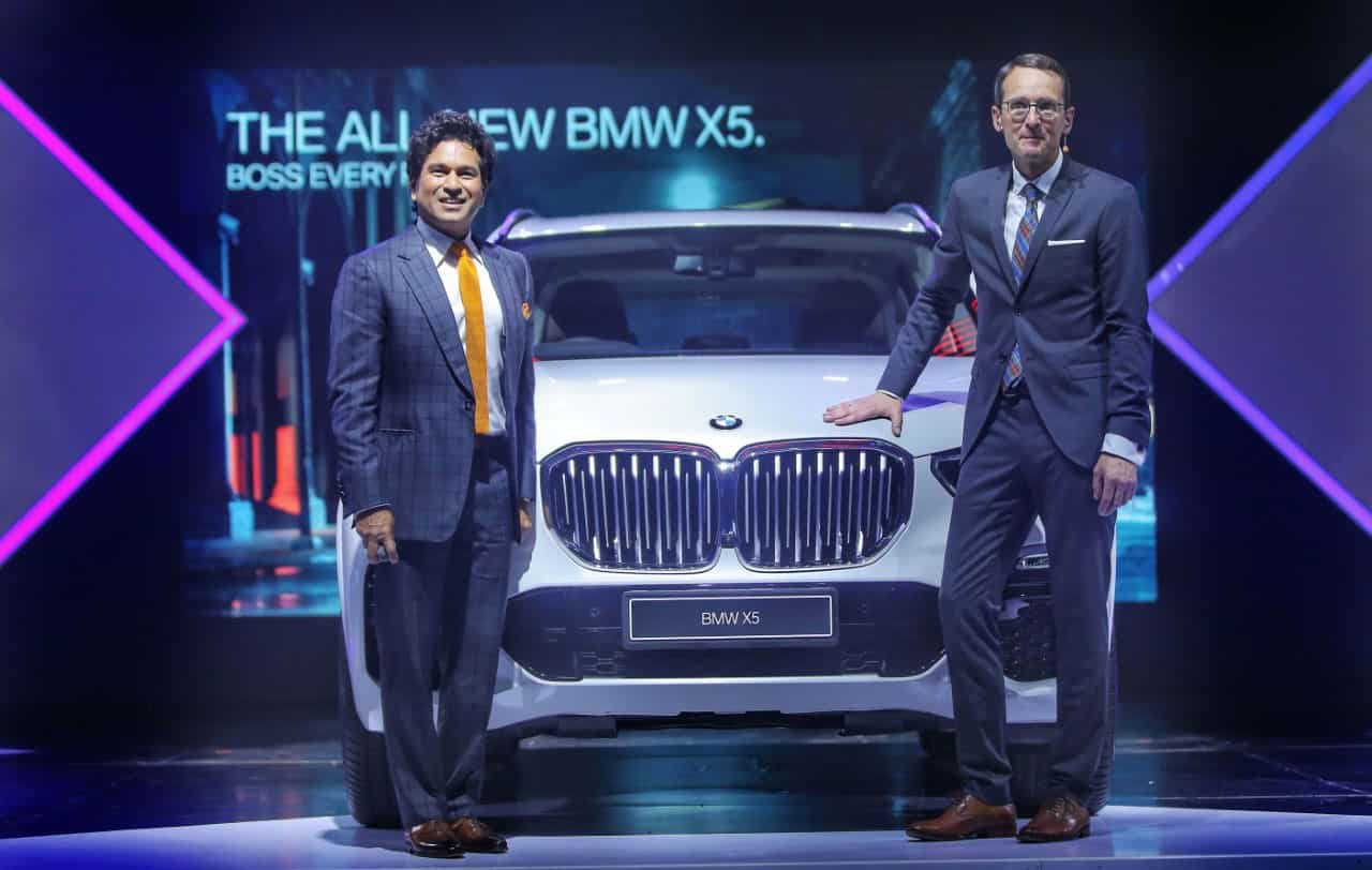 German automotive giant BMW on Thursday launched its latest offering BMW X5 in India.