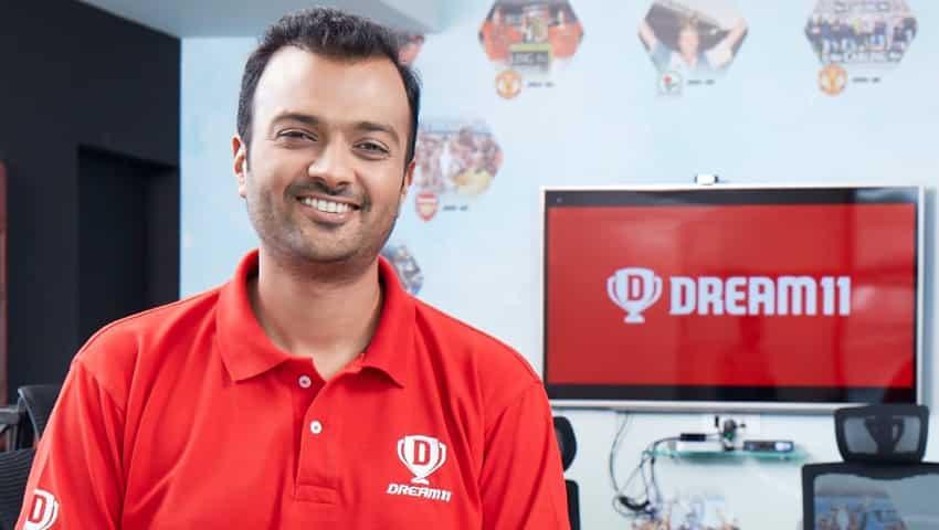 Dream11 CEO Harsh Jain