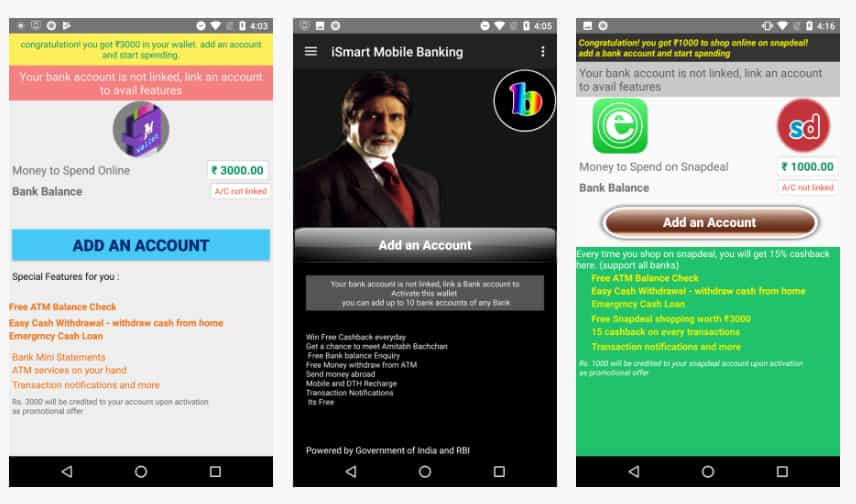 Beware! Fake SBI, ICICI, IOB, Axis, BoB, Citi, Yes bank apps abound
