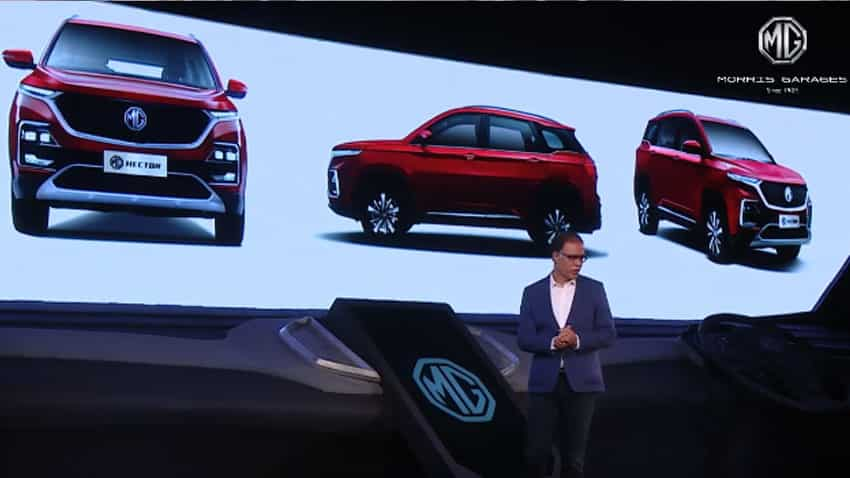 Long wait ends! SUV MG Hector unveiled - Check pics, top