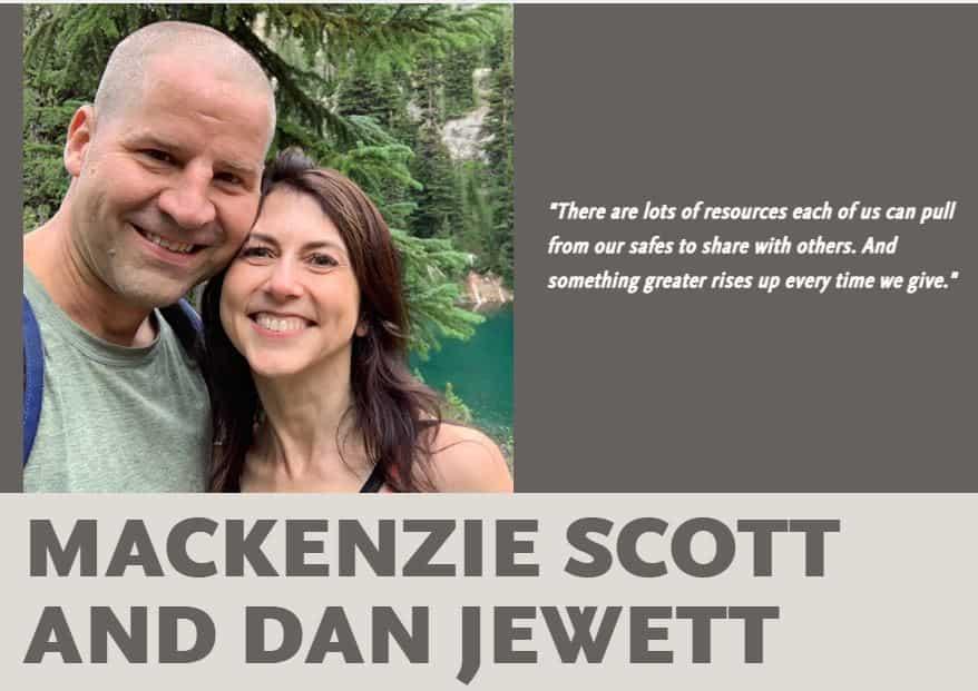 MacKenzie Scott Dan Jewett Marriage