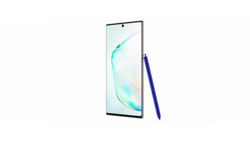 Samsung Galaxy Note 10+.