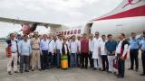First commercial flight lands in Arunachal Pradesh with CM Pema Khandu on board