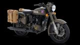 Royal Enfield Classic 500 'Pegasus' bike, based on legendary World War II era model, launched in UK