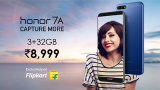 Honor 7A sale to begin on May 29 exclusively on Flipkart; Check out discounts, specs and more