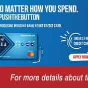 WOW! This credit card has buttons! India's first such card offers PoS, EMI, even reward points options