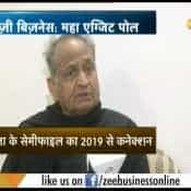 Now people need Congress : Ashok Gehlot confident on Exit Polls 2018