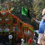 World's first diesel to electric converted locomotive flagged off by PM Narendra Modi: All you need to know
