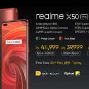 Realme X50 Pro 5G, India's first 5G smartphone launched with 65W fast charging: Check price, features
