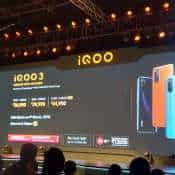 IQOO 3 with Snapdragon 865 chipset, 5G support and 55W fast charging launched in India