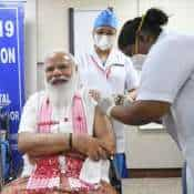 Covid 19 vaccination drive 2nd phase: PM Narendra Modi takes first dose of Covid 19 vaccine at Delhi AIIMS