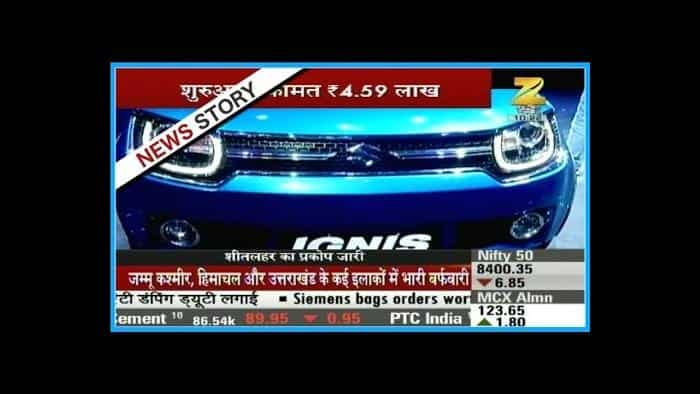 Maruti to start delivering Ignis from today