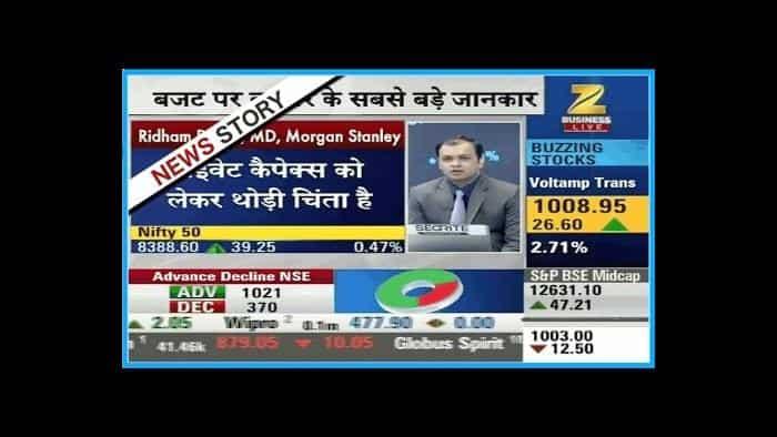 Ridham Desai, MD , Morgan Stanley speaks of Indian Market post demonetisation