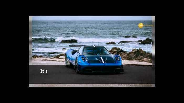 At Rs 122 cr, Pagani Zonda HP Barchetta is the world's most expensive car
