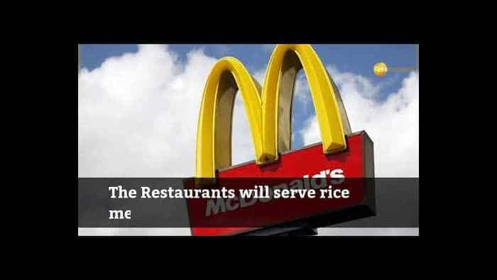 McDonald's to sell rice meals for lunch and dinner, eyes 5-8% revenue