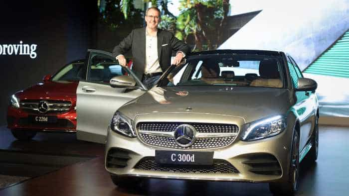 Merc launches new C-Class with BS-VI diesel engine