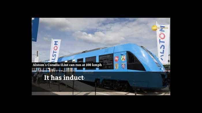 Forget electric engines, Germany puts into service world's first hydrogen-powered train
