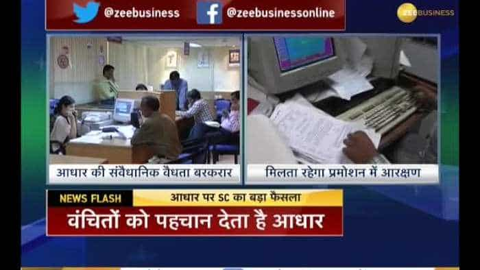 2 Big Verdicts by Supreme Court on Aadhaar Card and Reservation