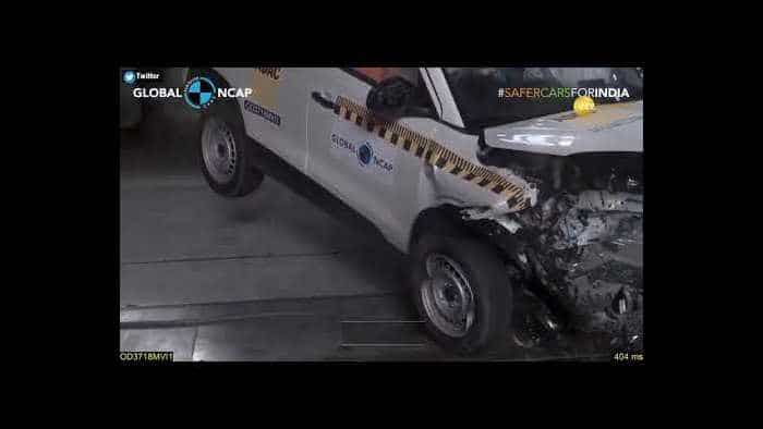 Maruti Vitara Brezza crash! Watch this mesmerising video