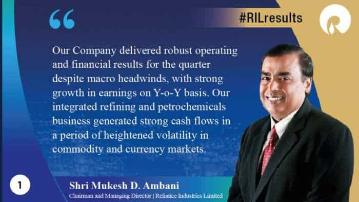RIL Q2 result: Reliance Industries consolidated net profit up 17.4% at Rs 9,516 crore