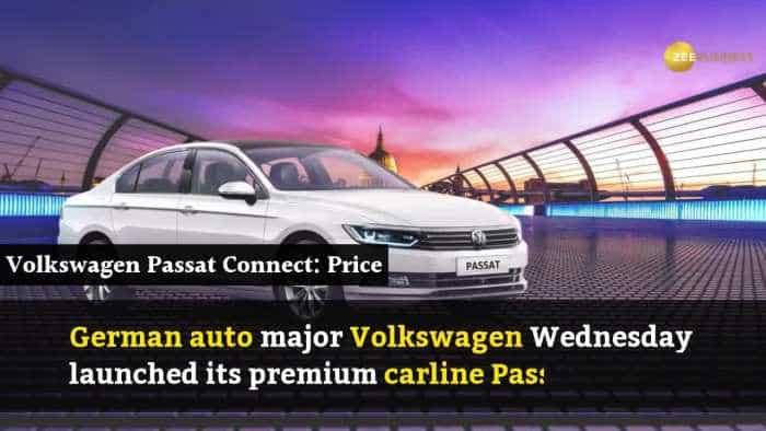 Volkswagen Passat launched priced at Rs 25.99 lakh
