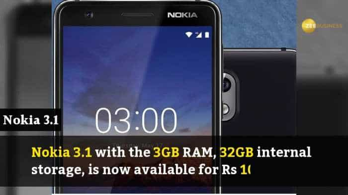 Nokia slashes prices of Nokia 3.1, 5.1, 6.1, 8 Sirocco