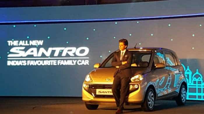 Santro launch: Hyundai launches new small car; prices start  Rs 3,89,900; puts Maruti, Tata on notice