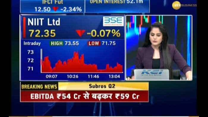 CEO of NIIT Ltd , Sapnesh Lalla speaks exclusively to Zee Business