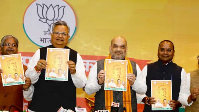 Chhattisgarh elections 2018: BJP manifesto released, party vows 'Naxal-free' state, sops to farmers