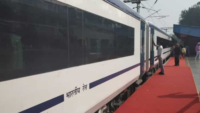 Special Indian Railways Train 18 reaches Delhi; Check amazing photos