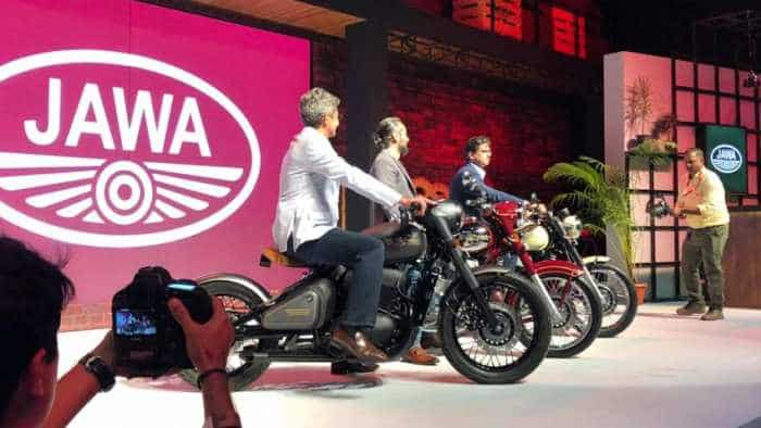 Jawa motorcycles launched by Anand Mahindra; price to specs, get up close and personal with historic bike