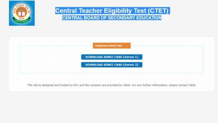 CTET Admit Card 2018 Download: CBSE releases Teacher Eligibility Test admit card on ctet.nic.in; details here